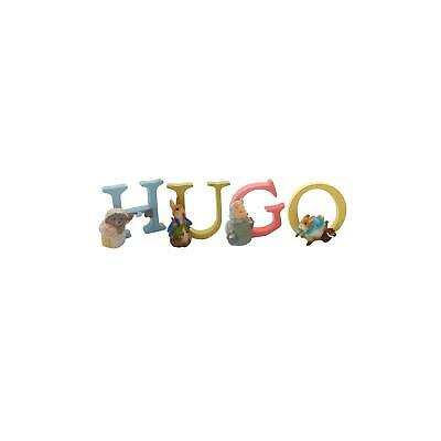 Official Licensed Beatrix Potter Peter Rabbit Boys Name Hugo Alphabet Letters