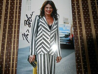 Iris Berben,  Actress,  Original Hand Signed Photo 6 x 4