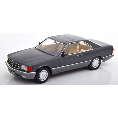 Mercedes 560 SEC (C126) 1980 Anthracite 1/18 - 180331 KK SCALE