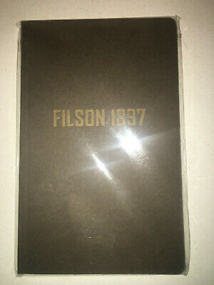 Brand New Filson Made In Usa Limited Edition Blank Paper Journal