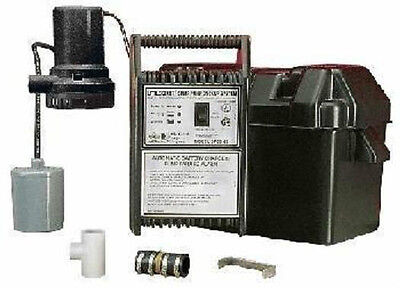 Spbs-12 506400 Little Giant Sump Pump Back-Up System