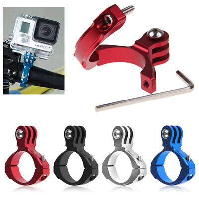 Bike Bicycle Aluminum Handlebar Bar Clamp Mount Tool for Gopro Hero 1/2/3/3+