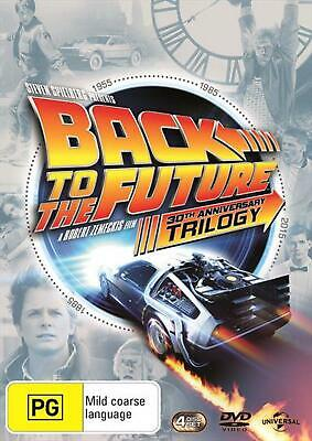 Back To The Future Trilogy: 30th Anniversary - DVD Region 4 Free Shipping!