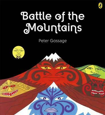 Battle of the Mountains by Peter Gossage Paperback Book Free Shipping!
