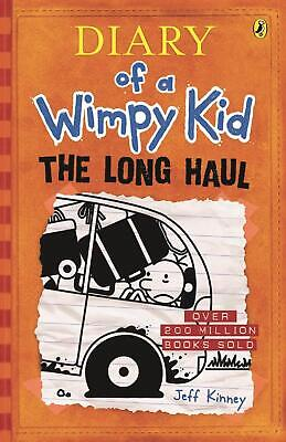 Diary of a Wimpy Kid 9: The Long Haul by Jeff Kinney Paperback Book Free Shippin