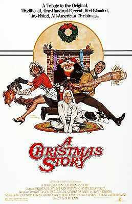 CHRISTMAS STORY ONE SHEET MOVIE POSTER 22x34-16487