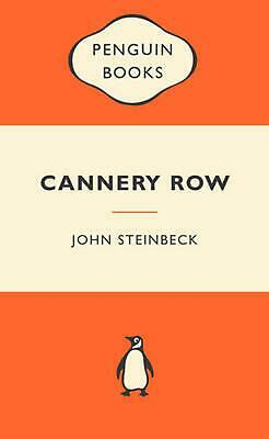 Cannery Row: Popular Penguins by John Steinbeck Paperback Book Free Shipping!