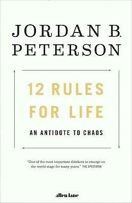 12 Rules for Life: An Antidote to Chaos by Jordan B. Peterson (English) Paperbac