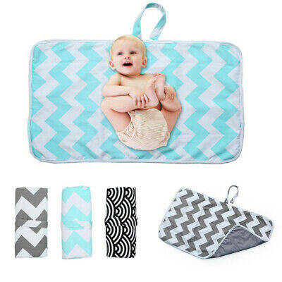 UK Portable Infant Baby Foldable Waterproof Diaper Changing Mat Travel Outdoor