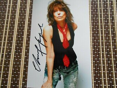Chrissie Hyde, Musician/ Singer, Original Hand Signed Photo 6 x 4