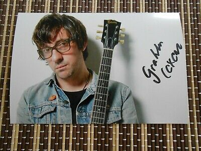 Graham Coxon, Musician/ Singer, Original Hand Signed Photo 6 x 4