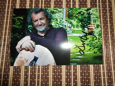 Andy Irvine, Musician/ Singer, Original Hand Signed Photo 6 x 4
