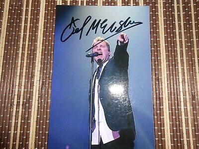 Andy McCluskey Musician/ Singer, Original Hand Signed Photo 6 x 4