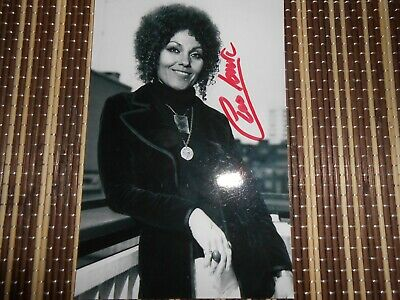 Cleo Laine, Singer, Original Hand Signed Photo 6 x 4