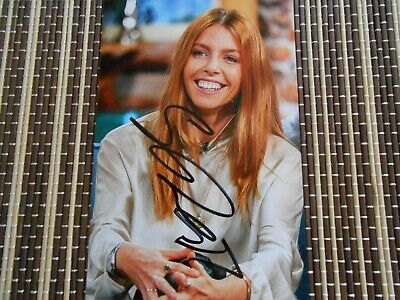 Stacey Dooley, T.V Documentary Presenter, Original Hand Signed Photo 6 x 4