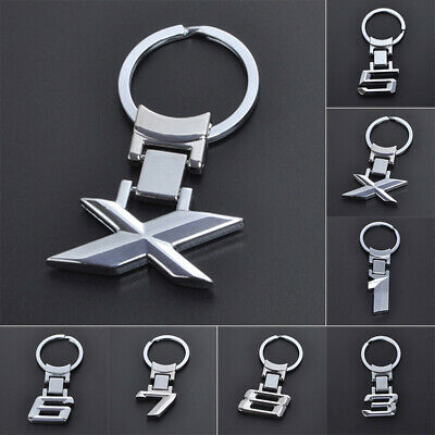 Stylish Alloy Car Key Chain Key Holder Fit For BMW 1 3 5 6 7 8/X Series Key Ring