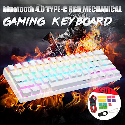 ANNE PRO 2 Gateron Red Switch RGB Mechanical bluetooth Backlit Gaming Keyboard