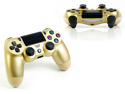 (R) Sony PS4 - DUALSHOCK 4 (2016) - GOLD - V2 Rot - Playstation 4