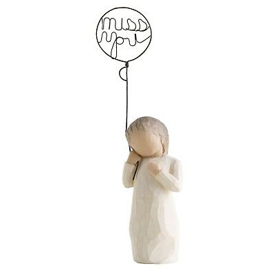 Willow Tree  Miss You Figurine 26183 in Branded Gift Box