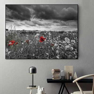 Canvas painting Pictures Wall art print landscape flower tree home deor Unframed