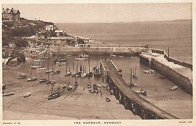 Postcard - Newquay - The Harbour
