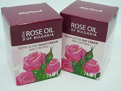 Rose of Bulgaria day and night cream natural rose water 50ml gift for her Women