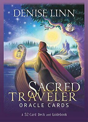 Sacred Traveler Oracle Cards: A 52-Card Deck and Guidebook by Linn New..