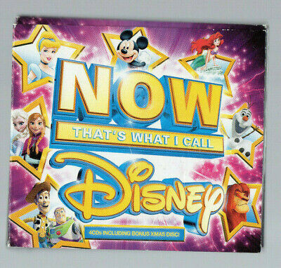 Now That's What I Call Disney ~4 Cd Boxset~ *With Christmas Cd* ***Free P&P***