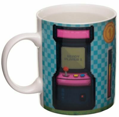 Novelty Gaming Game Over Colour Changing Magic Coffee Mug Cup New In Gift Box