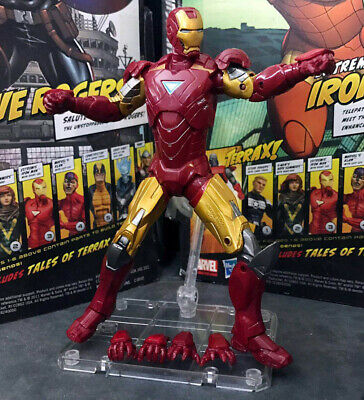 """Marvel Legends Iron Man MK 6 Armor with Stand 6"""" Action Figure Loose"""