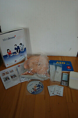 Laerdal MiniAnne CPR & AED Übungsmodell Trainingsset