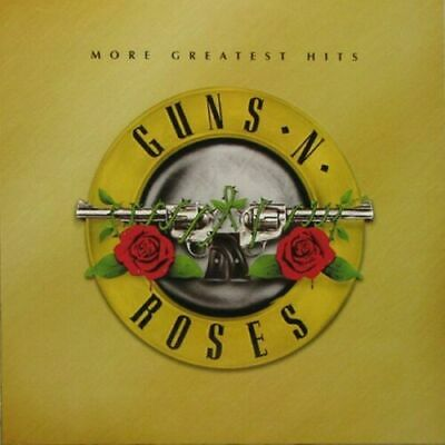 Guns N' Roses, More Greatest Hits, 180G White Colored Vinyl Lp, W/ Poster
