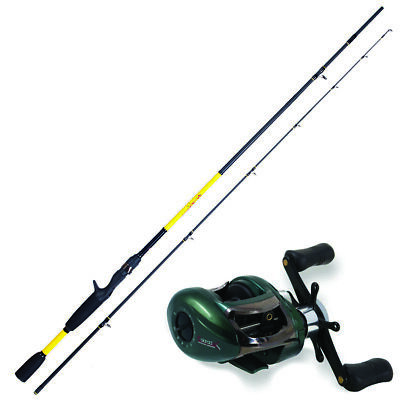 KP3804 Kit Casting Canna Pesca Herakles Youth 1,85 m + Mulinello Colorado  PP