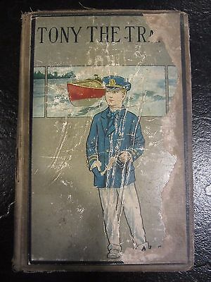 """Tony the Tramp"" by Horatio Alger, Jr. - Late 19th or Early 20th Century Book"