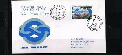 [FS051] 1970 - France Air France first flight - Transport - Airplanes - Paris-Po