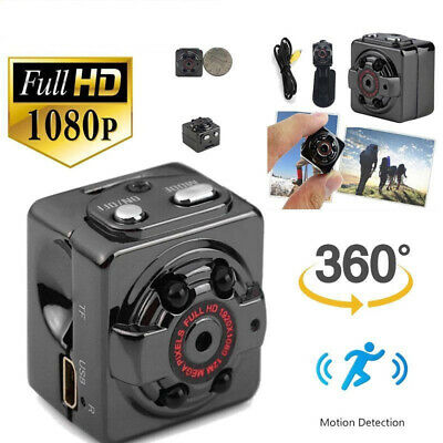 1080P HD Mini Hidden SPY Camera Night Vision Motion Detection Video Recorder Cam