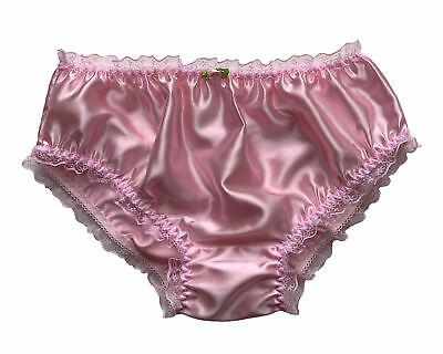 Details about  /Sissy Knickers White Lace boxers Panties Knickers size 14-16