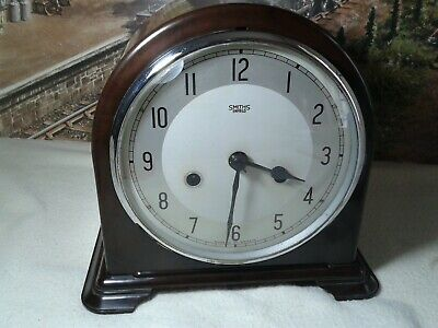Smiths Bakelite clock in restored working condition