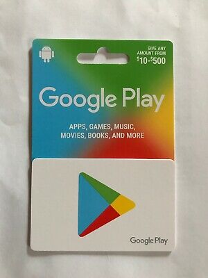 Google Play Gift Card $500