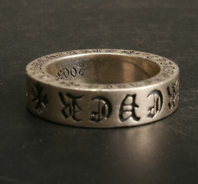 China 925 Silver Hand Carved Ring Jewelry Gift Collection