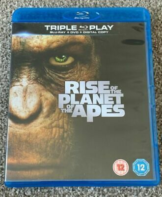 Rise Of The Planet Of The Apes (Blu-ray, 2012)