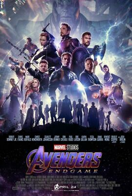 "Marvel AVENGERS ENDGAME 2019 Original INTL Ver B DS 2 Sided 27X40"" Movie Poster"