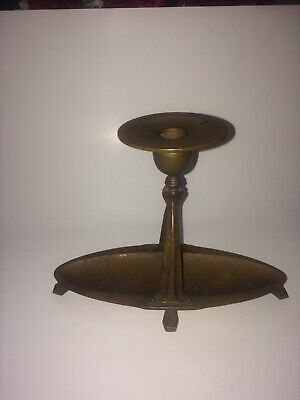 Vintage Arts and Craft Period Movement Candlestick Holder