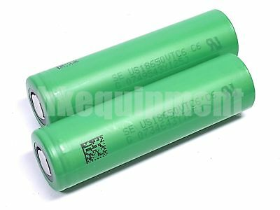 Sony US18650VTC6 18650 30A High Drain IMR Li-ion VTC6 Rechargeable Battery x2