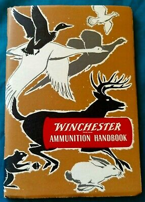 Vintage WINCHESTER Ammunition Handbook REPEATING ARMS 1950 1st Ed PB BOOK