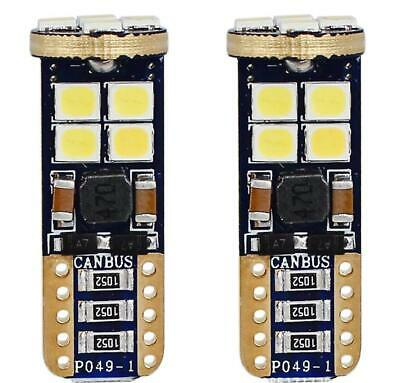 2x 3W T10 SMD LED 12V CANBUS Kalt Weiß Hell Innenraumbeleuchtung Standlicht