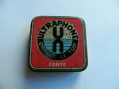 Ultraphone  Gramophone  Needle Tin