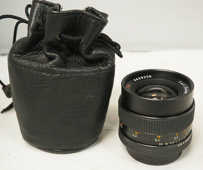 Contax Carl Zeiss T* Distagon 28mm f/2.8 Lens C/Y Mount w/ Pouch LMIJ  #911