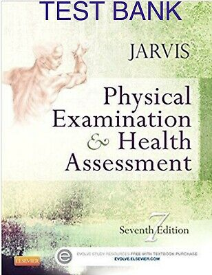 TEST BANK Physical Examination and & Health Assessment Jarvis 7th  ⭐️SEE NOTE⭐️