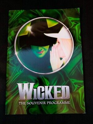 WICKED The Musical '16 London Programme Emma Hatton, Savannah Stevenson West End